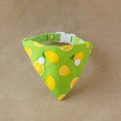 レモンのバンダナ(黄緑)