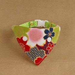 満開の桜のバンダナ(花かがり)