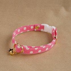 ドットの首輪<br>(ピンク)