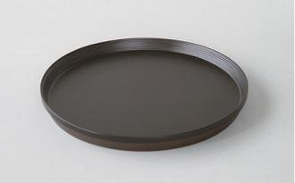 トレイ/円形 #619 (dark brown)