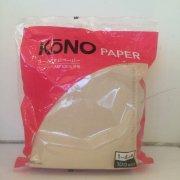【KONO(コーノ)】 ペーパーフィルター4人用・ブラウン・MD45EB (100枚入り)