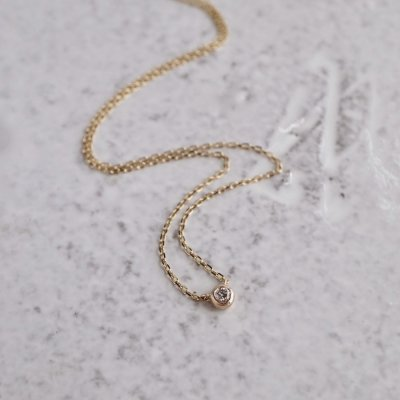 Stardust necklace 1stone