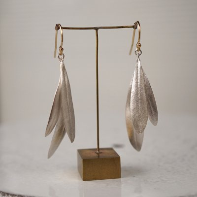 Olive leaves earrings