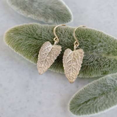 Eupatorium earrings
