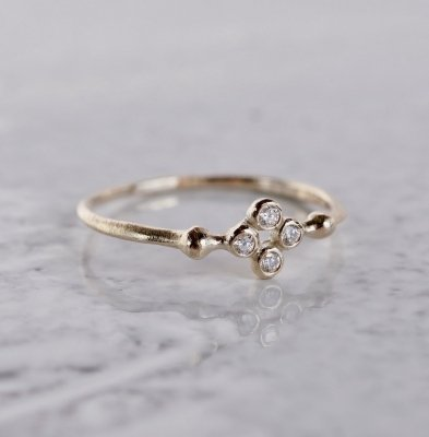 Stardust 4 stones ring