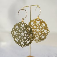 BR Round earrings