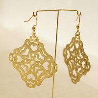 BR Square earrings