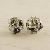Vintage beads earrings