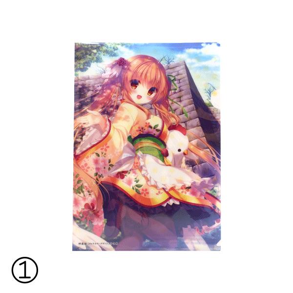 丸亀城と12人のお姫さま 一枚絵クリアファイル各種