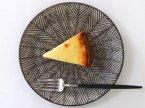 池田大介 三島手ヘリンボーン(白)ケーキ皿