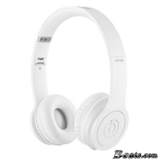 NEW Beats by dr.dre Matte Solo HD- White(��)