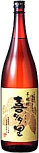 札幌酒精 さつまいも焼酎 喜多里 25度 1800ml