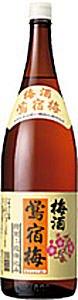 合同酒精 鴬宿梅 (おうしゅくばい) 二重仕込み 1800ml