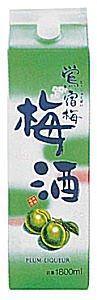 合同酒精 鴬宿梅 (おうしゅくばい) パック 1800ml