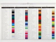 カラー診断フォローツール:120色ドレーピングチェックシート