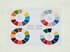 カラーパレット12色はがき版