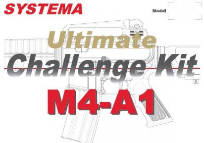 SYSTEMA:Ultimate Challenge Kit M4A1/CQBR MAX2 リコイルモデルの商品画像
