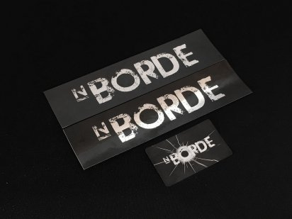 NBORDE:N_BORDEロゴステッカー3枚セットの商品画像