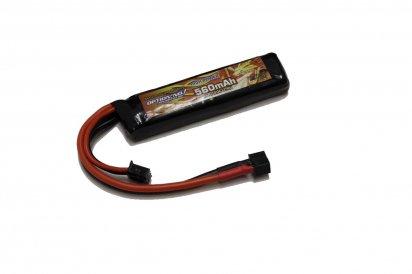 OPTION No.1:Matchd LIPO Battery HIGH POWER 7.4V 560mAhの商品画像
