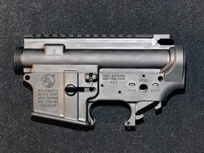 NBORDE:Receiver Set For PTW -COLT DEFENSE M4A1- 3rdの商品画像