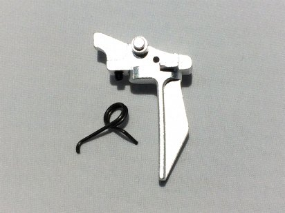 FCC:G Super Dynamic Styled Adjustable Trigger (Aluminium) Silverの商品画像