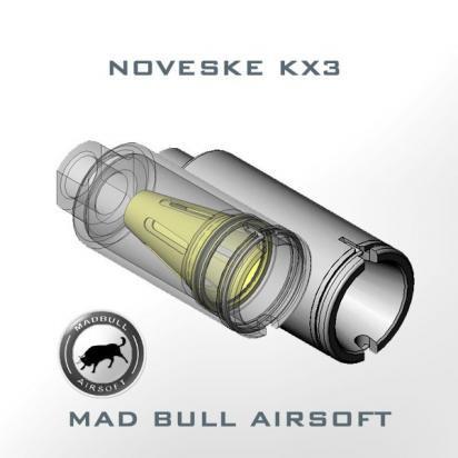 MADBULL:Noveske KX3 Flash Hider BK (CW)の商品画像