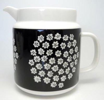 マリメッコ PUKETTI (プケッティ)ピッチャー black/white