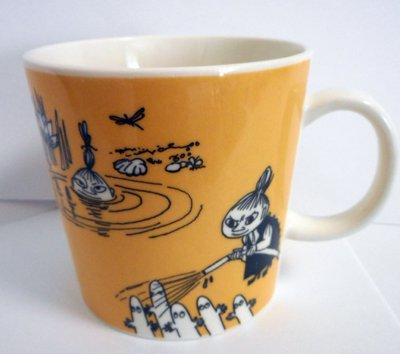 廃盤 アラビア ムーミンマグ Dark yellow  /ダークイエロー1991-1996