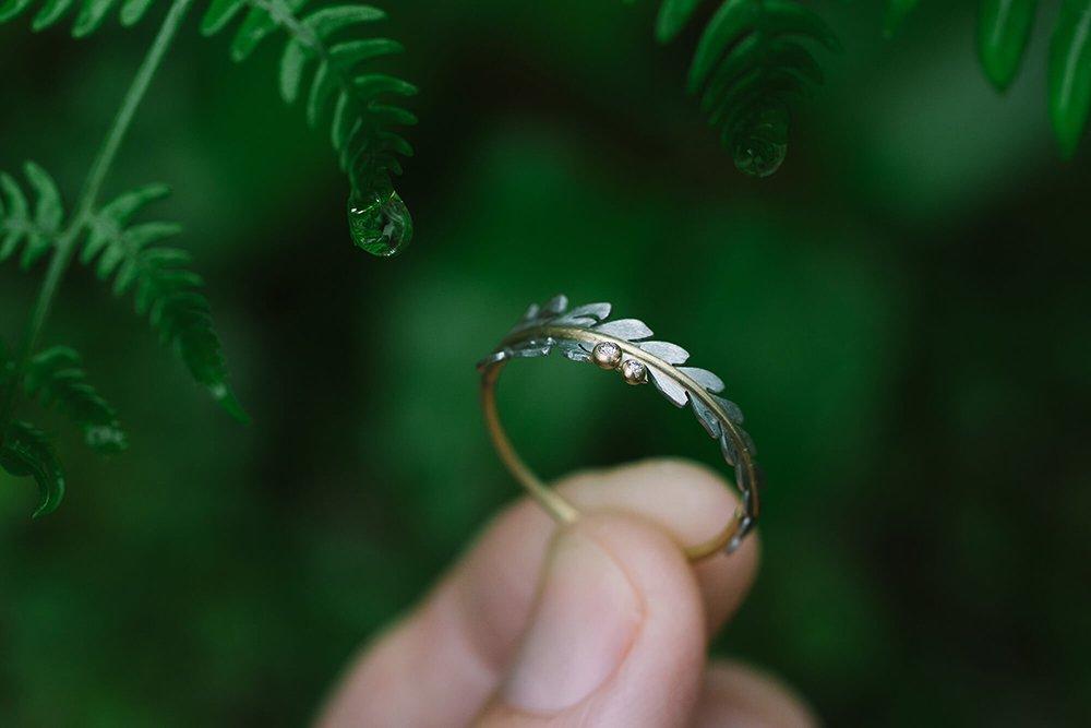 シダの指輪