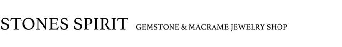 天然石×マクラメアクセサリー STONES SPIRIT ストーンズスピリット