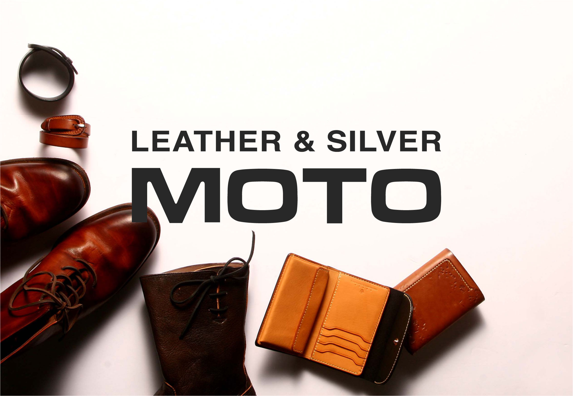 LEATHER & SILVER MOTO