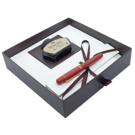 ペリカン 万年筆 特別生産品 M101N ブライトレッド02