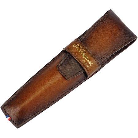 デュポン ラインD アトリエ ペンケース 190204 タバコブラウン 1本用03