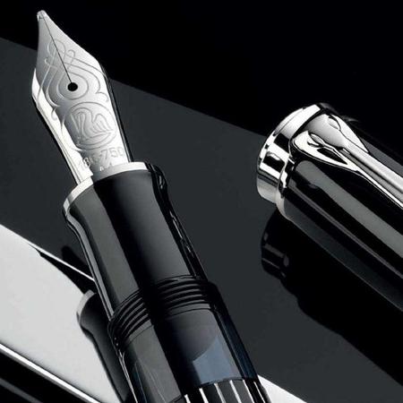 ペリカン 万年筆 特別生産品 スーベレーン815 M815 メタルストライプ 創業180周年モデル03