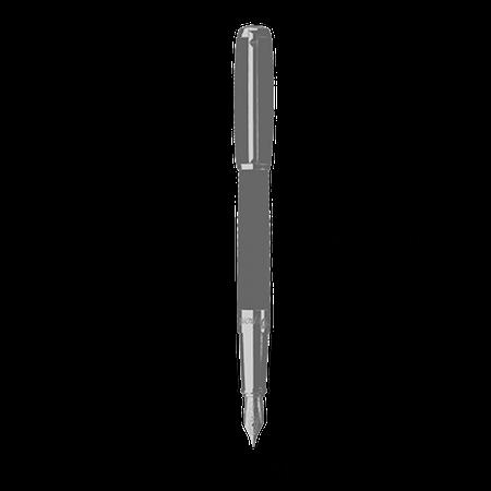 デュポン 万年筆 限定品 ラインD ラージ ブラック パラディウム仕上げ 純正漆 410100L03