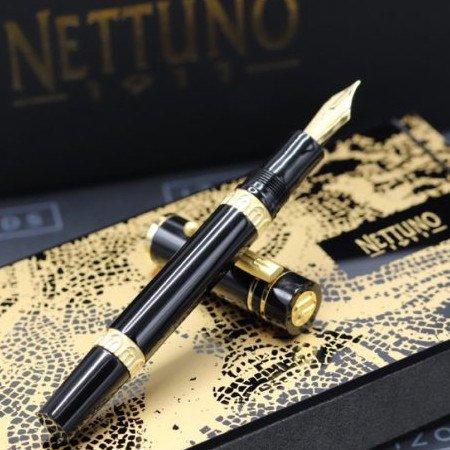 ネットゥーノ 1911 万年筆 ナインティーンイレブン ブラック03