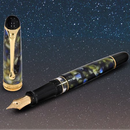 アウロラ 万年筆 88 サトゥルノ(土星)限定生産品 Aurora Limited Edition 88 Saturno Founrainpenメインイメージ