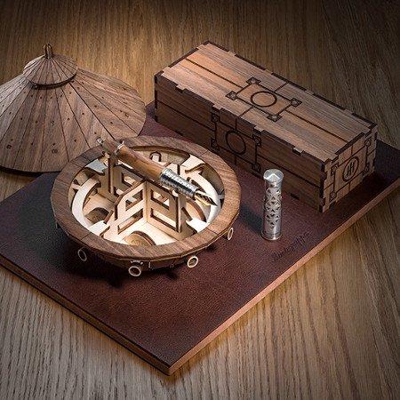 モンテグラッパ 万年筆 限定品 レオナルド・ダ・ヴィンチ  没後500年モデルメインイメージ