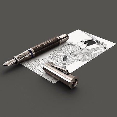 ファーバーカステル 万年筆 限定品 ペン・オブ・ザ・イヤー 2019 侍 サムライ ウッドメインイメージ