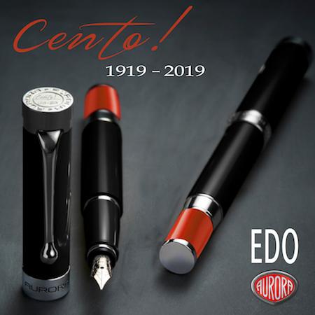 アウロラ 万年筆 100周年記念モデル チェント エド CENTO EDO メインイメージ