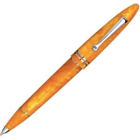 レオナルド ボールペン フローレ オレンジ シルバートリムメインイメージ