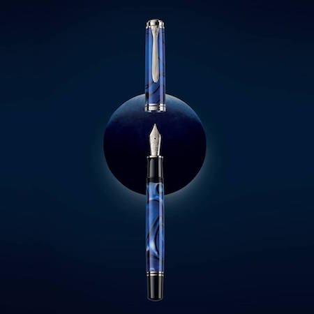 ペリカン 万年筆 特別生産品 スーベレーンM805 ブルーデューン Blue Dunas 02