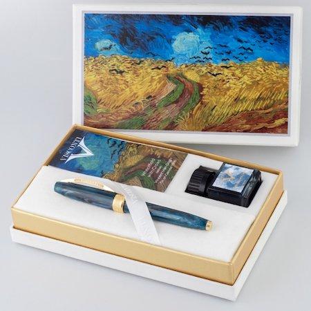 ビスコンティ 万年筆 ヴァンゴッホコレクション 特別生産品 カラスのいる麦畑メインイメージ