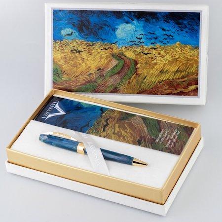 ビスコンティ ボールペン ヴァンゴッホコレクション 特別生産品 カラスのいる麦畑メインイメージ
