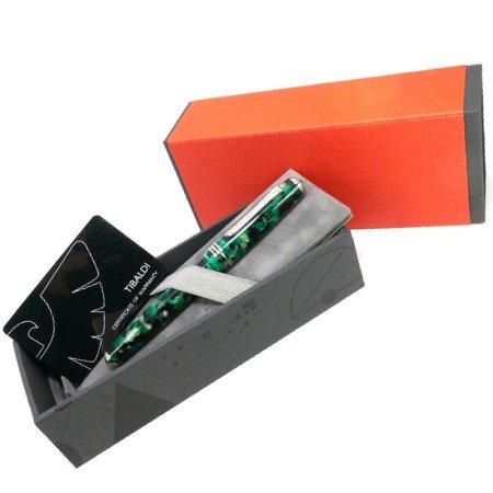 ティバルディ 万年筆 モデル60 エメラルドグリーン04