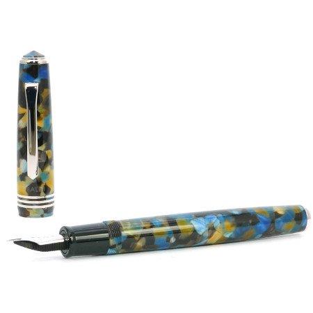 ティバルディ 万年筆 モデル60 ブルー02