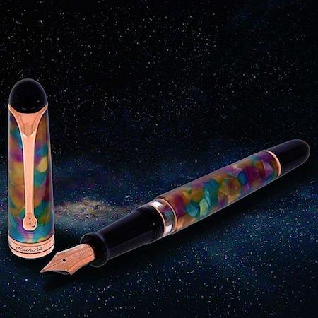 アウロラ 万年筆 88 オタントット 限定品 ジュピター(木星 ジョーヴェ)Aurora 8