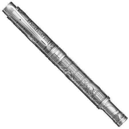 モンテグラッパ 万年筆 限定品 ヘミングウェイ コレクション アドベンチャー 18金ニブ04