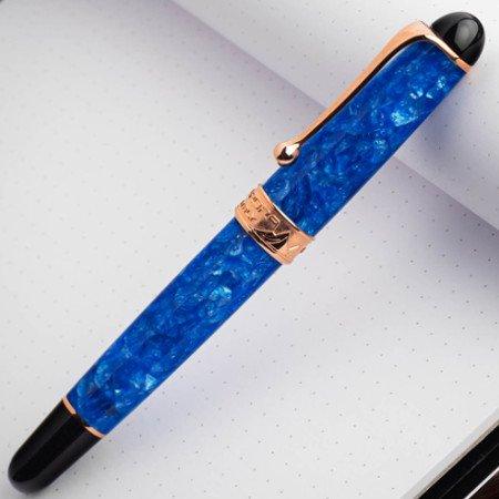 アウロラ 万年筆 88 オタントット 限定品 ヒマラヤブルー03