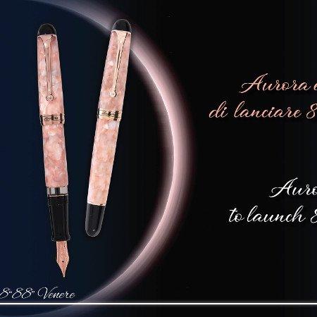 アウロラ 万年筆 88 オタントット 限定品 ヴィーナス(金星 ヴェネレ)Aurora 88 Venere Fountain Pen03